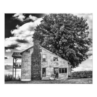 Crooked House - Temple Hill, KY Photo Print