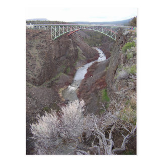 Crooked River Canyon Postcard