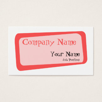Crooked Squares Business card