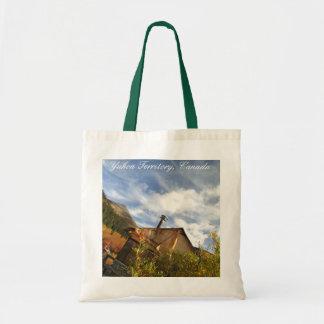 Crooken Cabin; Yukon Territory, Canada Budget Tote Bag