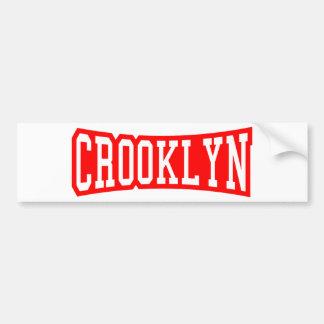 CROOKLYN, NYC BUMPER STICKER