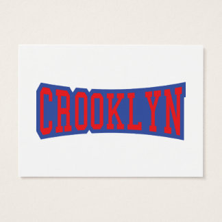 CROOKLYN, NYC BUSINESS CARD
