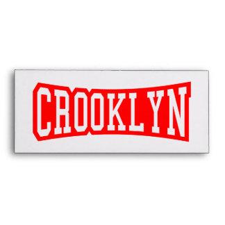 CROOKLYN, NYC ENVELOPE