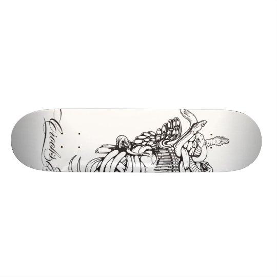 Crooks & Castles Medusa Core 1 Skateboard Deck