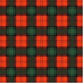 Crookshank clan Plaid Scottish kilt tartan Cutout