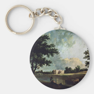 Croome Court In Worcestershire By Richard Wilson Key Chain