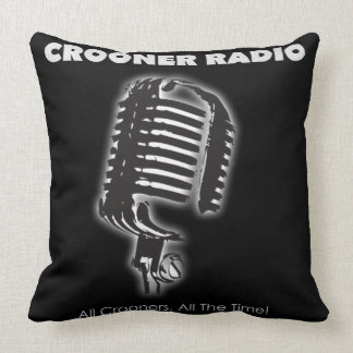 Crooner Radio Pillow