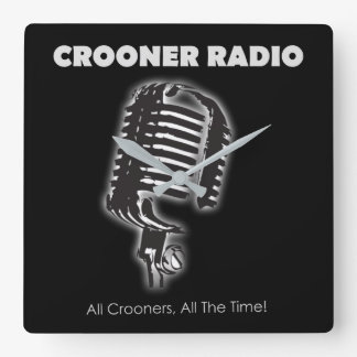 Crooner Radio Wall Clock
