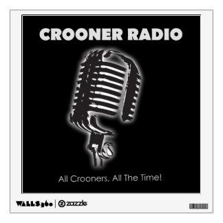 Crooner Radio Wall Decal