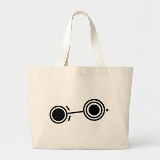 Crop circle 1 tote bags