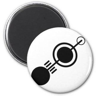 Crop circle 4 magnet