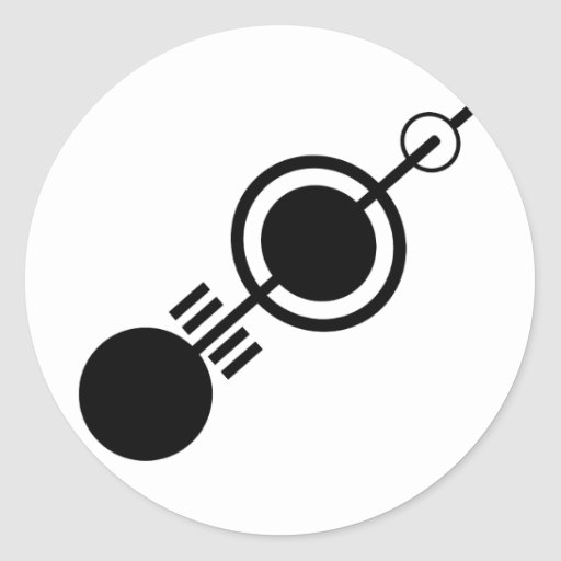 Crop circle 4 sticker