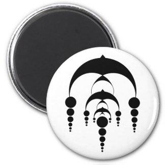 Crop circle 6 (light) magnet