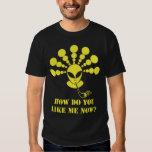 Crop Circle Alien Smoking Tshirts