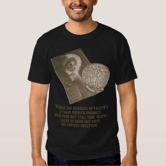 Crop Circle - Alien - We Oppose Deception T-Shirt