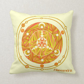 Crop Circle Art Personalized Pillow Home Decor