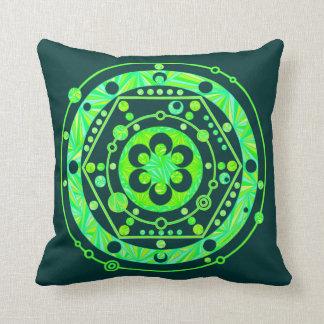 Crop Circle Art Throw Pillow