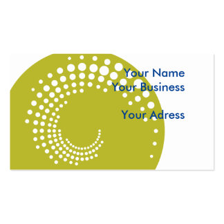 Crop circle business card