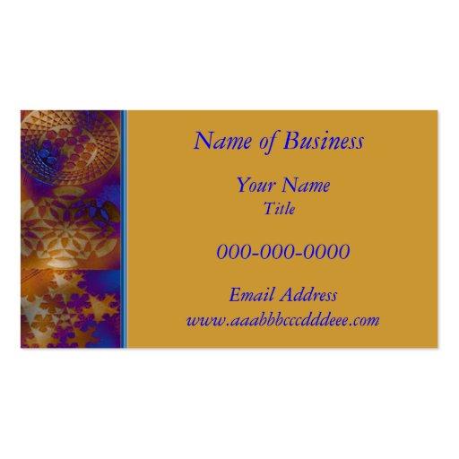 Crop Circle Business Card