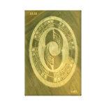 CROP CIRCLE CANVAS DMT SPIRITUAL GRAFFITI CANVAS PRINTS