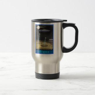 Crop circle creation travel mug