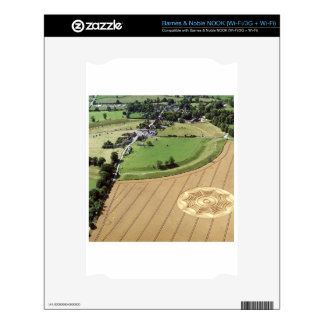 Crop Circle Dreamcatcher Avebury 1994 Decal For The NOOK