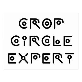 Crop Circle Expert Postcard