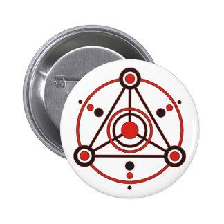 crop circle IV 2 Inch Round Button