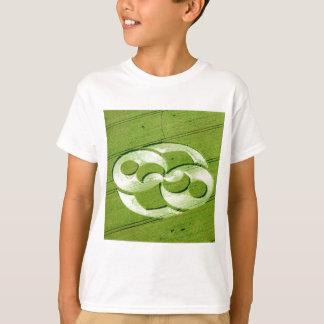 Crop Circle Julia Set Liddington Castle 1996 T-Shirt