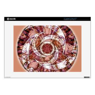 Crop Circle Mandala 3 Gifts Laptop Decals