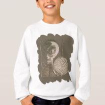 Crop Circle Pattern Sweatshirt