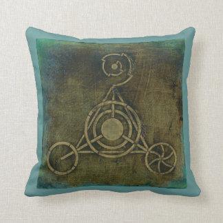 crop circle pillow