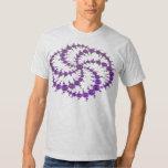 Crop Circle Purple T Shirt