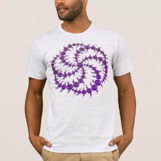 Crop Circle Purple T-Shirt