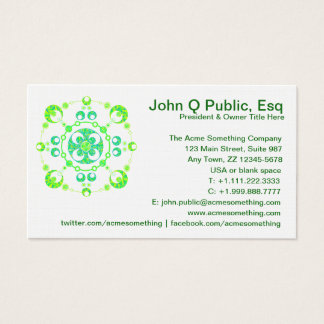 Crop Circle Research Investigator Business Cards