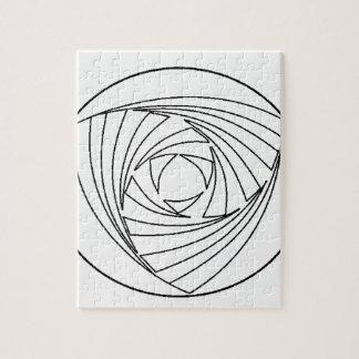 Crop Circle Sacred Geometry Bag Jigsaw Puzzle