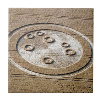 Crop Circle Sisters Of Pleiades Froxfield 1994 Ceramic Tile