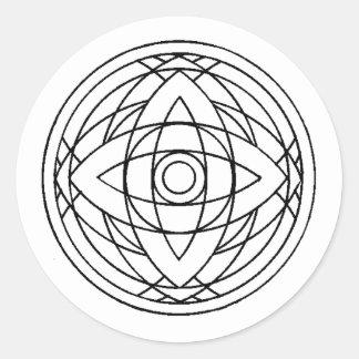 Crop Circle Sticker