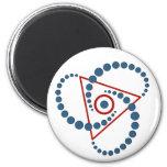 crop circle VI 2 Inch Round Magnet