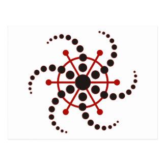 crop circle VII Postcard