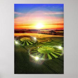 Crop Circles Poster