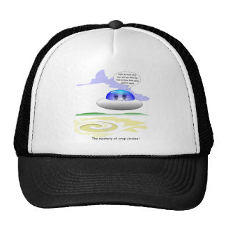 Crop Circles Trucker Hat