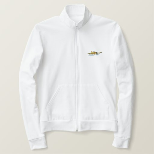 Crop Duster Embroidered Jacket