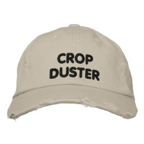 Crop Duster - funny running Embroidered Baseball Hat
