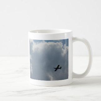 crop dusting classic white coffee mug