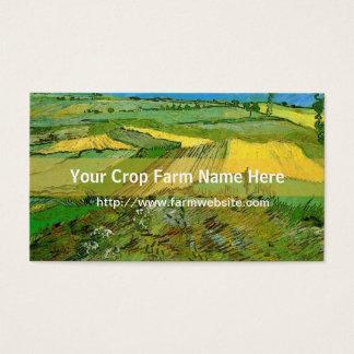 Crop farm business card