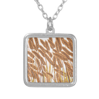 Crop Field Silver Plated Necklace