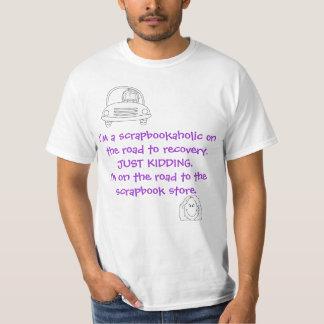 Crop Hoppers Scrapbookaholic T-Shirt