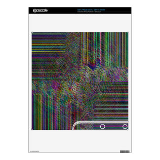 Crop Rows PS3 Slim Console Decal