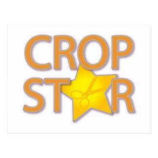 Crop Star Postcard